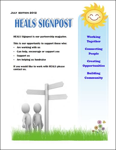 The HEALS Signpost - July 2012 Edition