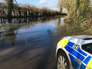 Storm Dennis: Photos show extent of flooding in Malmesbury