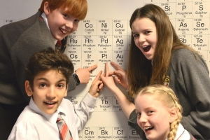 School's science department recognised as top in the country