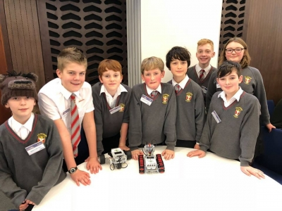 Talented pupils reach final of robotics competition