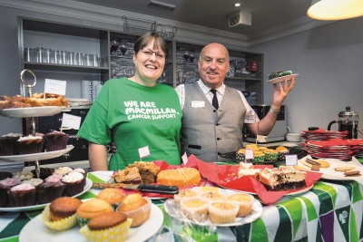 Retirement development bakes for charity