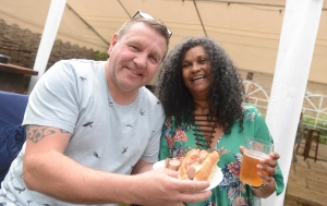 Beer and sausage festival is a hit with punters
