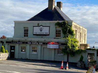 Offers are being invited for the leasehold of the Castle Inn in Bradford on Avon