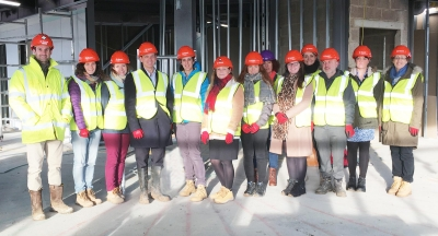 Women in Property visit Dyson's new £6 million campus roundhouse
