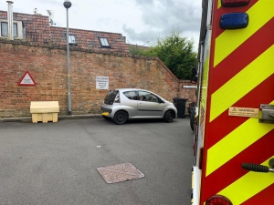 Malmesbury firefighters ask drivers to park more sensibly