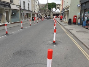 Changes to Malmesbury High Street help social distancing