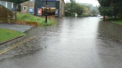 Parts of Wiltshire affected by flooding