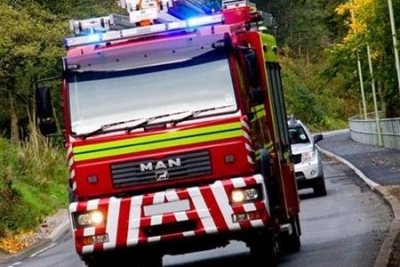 Fire crews tackle chimney fire in Malmesbury