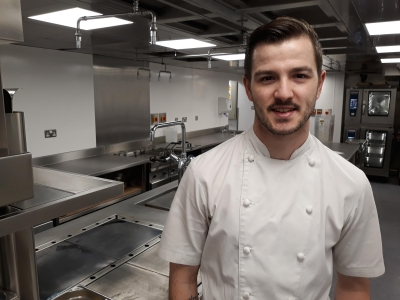 Malmesbury sous chef judged by top TV cooks in national competition