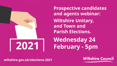 Prospective candidates and agents invited to election webinar next Wednesday