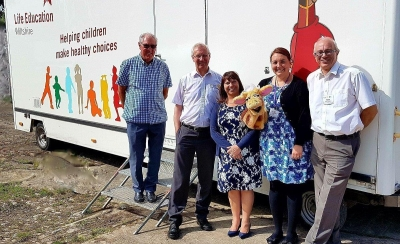 Rotary clubs fund new mobile classroom offering lessons for life