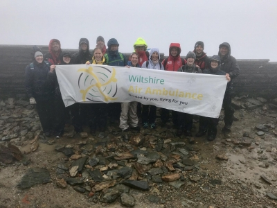 Winter Olympians support Snowdonia challenge