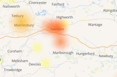 Swindon Sky customers  hit by service 'outage'